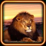 Lion Wild Hunt live wallpaper