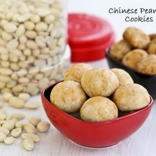Chinese Peanut Cookies.