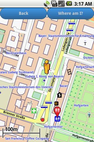 Munich Amenities Map free
