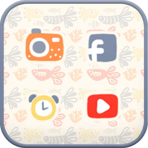 Dreaming of fish icon theme