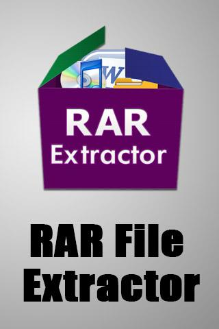 Rar File Extractor