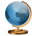 Globe Finger Travel icon