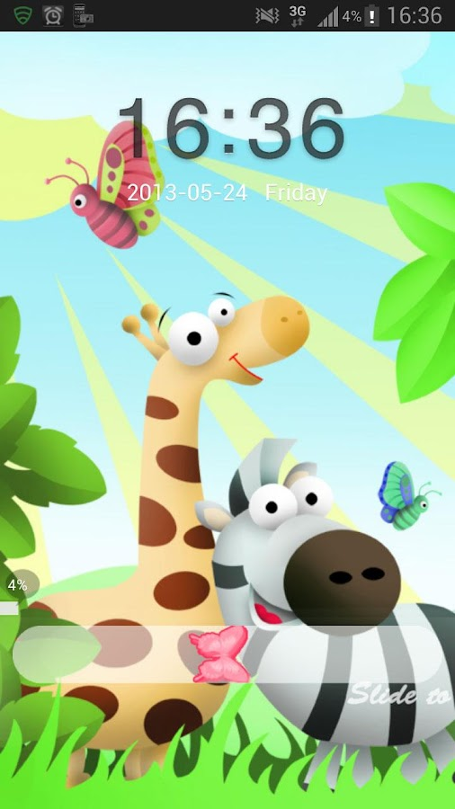 GO Locker Theme animals- screenshot