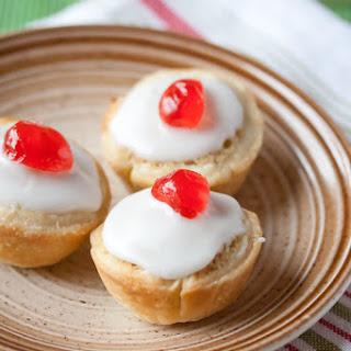 Mini Cherry Bakewell Tarts