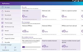 Screenshot of MyProximus