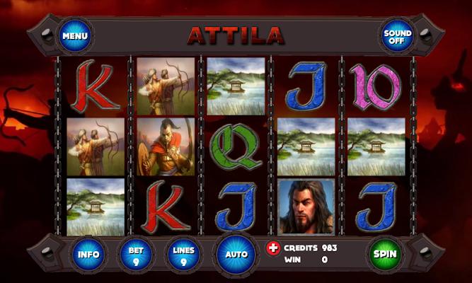 Attila Slot - screenshot