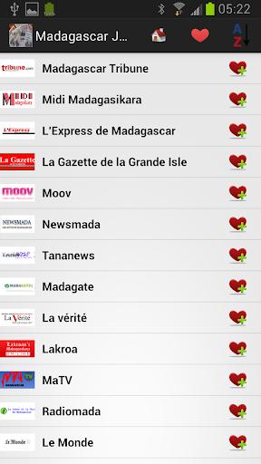 Madagascar Journaux