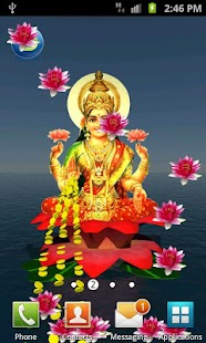 Laxmi Pooja 3D Live Wallpaper- screenshot thumbnail