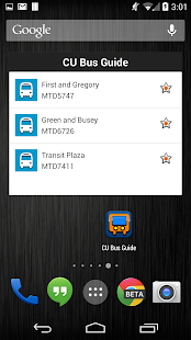 CU Bus Guide - screenshot thumbnail