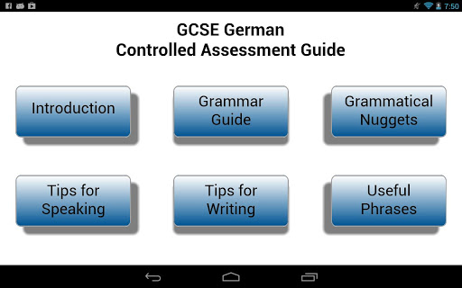 GCSE German Guide