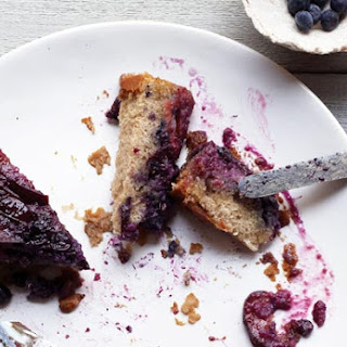 Plum-Blueberry Upside-Down Cake
