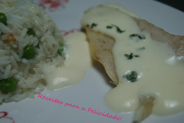 Hake Fillets with Camembert Sauce