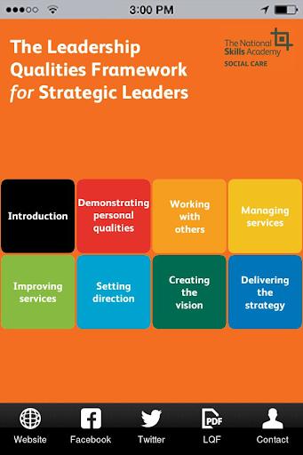 LQF for Strategic Leaders
