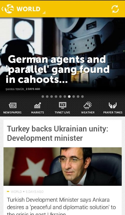 Yeni Şafak English- screenshot