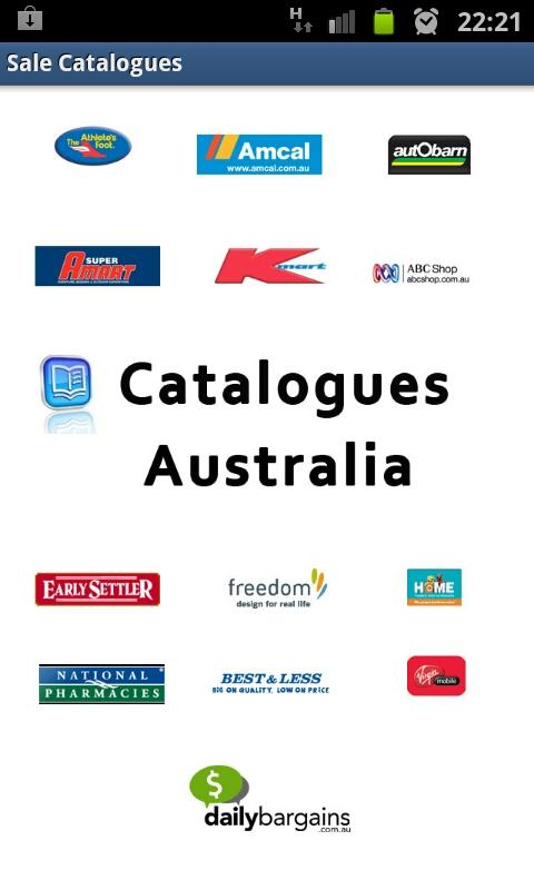 Sales Catalogues Australia - screenshot