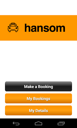 Hansom Taxis