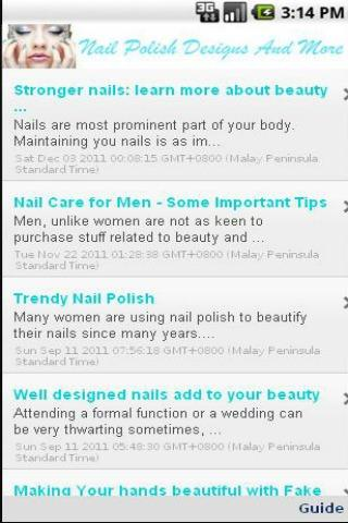 Nail Polish Designs And More - screenshot