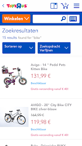 "Toys""R""Us Netherlands screenshot 2"