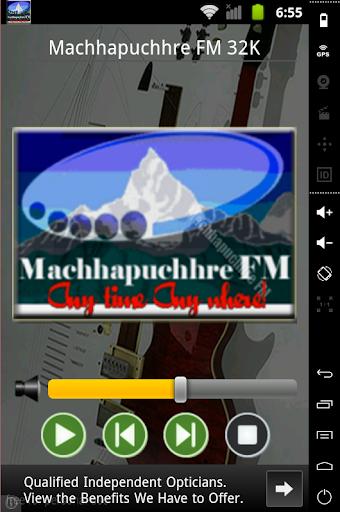Machhapuchhre FM Radio Player