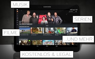 Screenshot of MyVideo: Musik, Filme & Serien