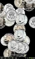 Screenshot of Coin Shower Live Wallpaper