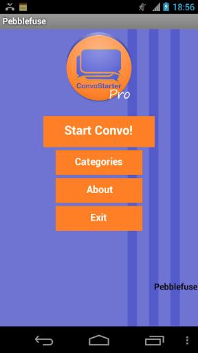 Hangout Convo Starter PRO