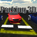 Parking 3D icon