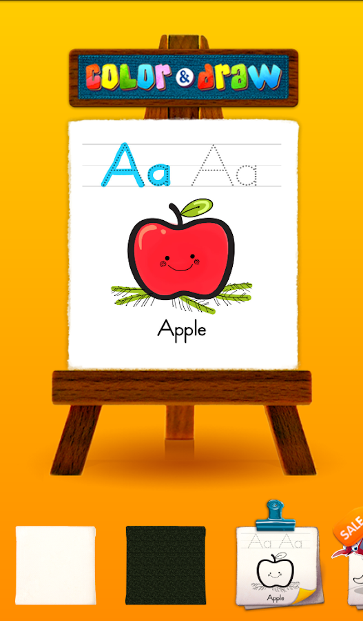 Alphabet Coloring- screenshot