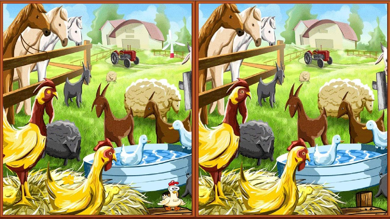 in this differences game you will find many pictures with the cutest ...