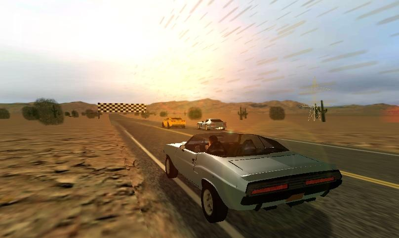 Route 66 Racer- screenshot
