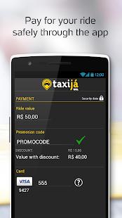 Taxijá UOL, brazil taxicab app - screenshot thumbnail