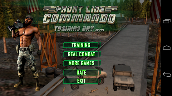 Front Line Commando Training