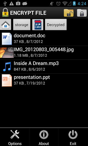 Encrypt File Free 1 1 0 (Android) - Download APK