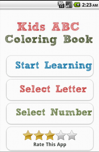 Kids ABC Color Book