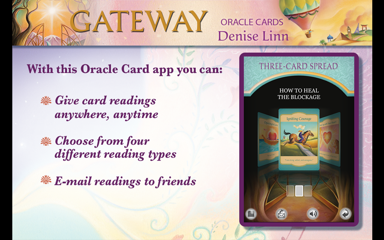 Gateway Oracle Cards - screenshot