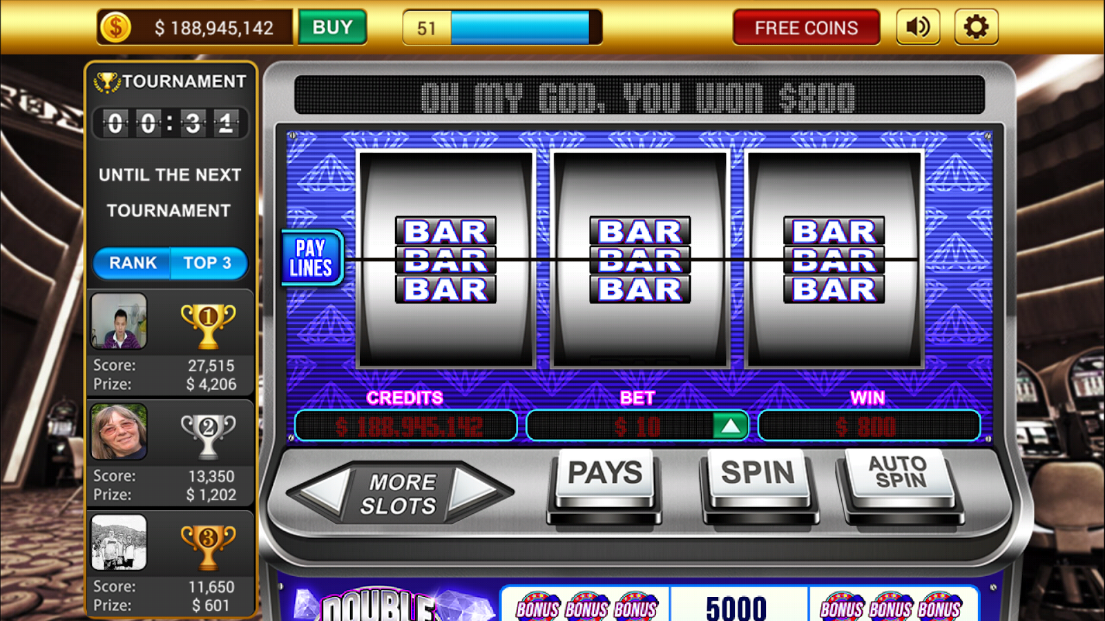 Classic Vegas Slots-High Limit - Android Apps on Google Play