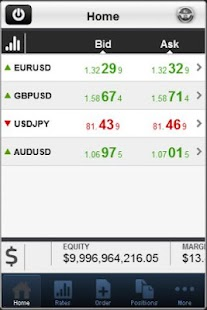 Aston Forex Mobile Trader - screenshot thumbnail