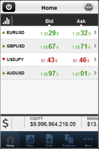 Aston Forex Mobile Trader - screenshot