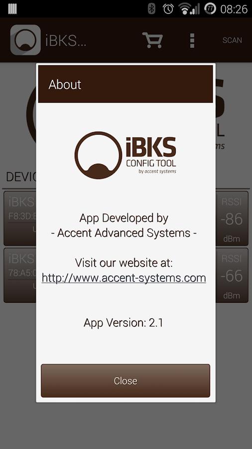 iBKS Config Tool - screenshot