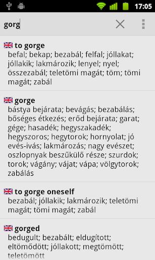 Hungarian Dictionary