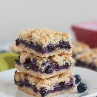 Blueberry Crumb Bars.