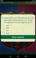 Screenshot of Soccer Logo Quiz Slide Puzzles