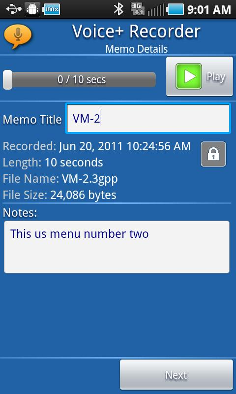 Voice+Recorder- screenshot