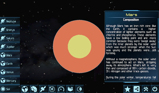 Solar System Explorer HD Pro- screenshot thumbnail