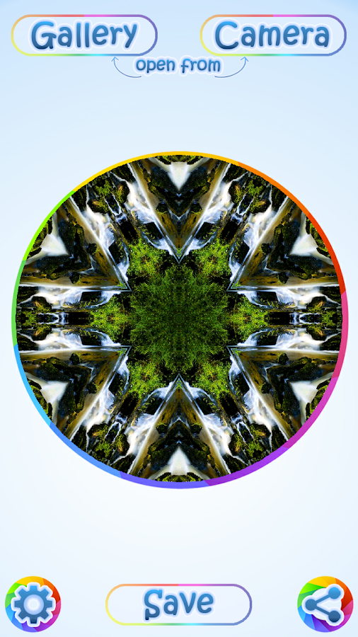 KaleidoShot - Kaleidoscope App- screenshot