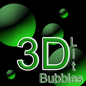 3D Bubbles Live Wallpaper Lite