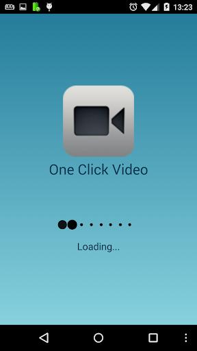 One Click video camera