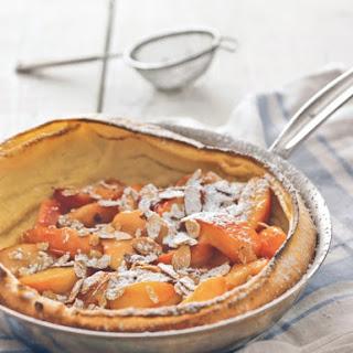 Nectarine-Almond Oven Pancake