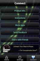 Screenshot of Lucid Dream Brainwave