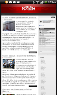 Blog del Narco - screenshot thumbnail